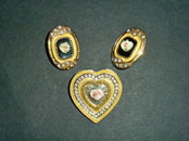 1928 Brooch & Earrings