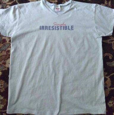 Simply Irresistible TShirt Movie Promo