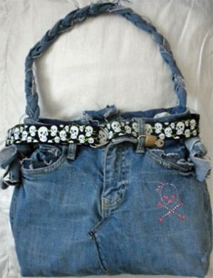 Jean Pirate Purse