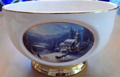 Thomas Kinkade Bowl