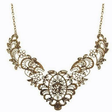 Look of Lace Necklace