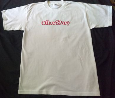 Office Space Tshirt Movie Promo