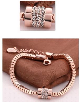 Rose Gold Zirconia Bracelet
