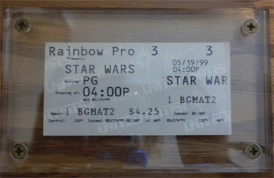 Stars Movie Ticket
