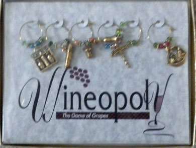 Wineopoly Wine Charms